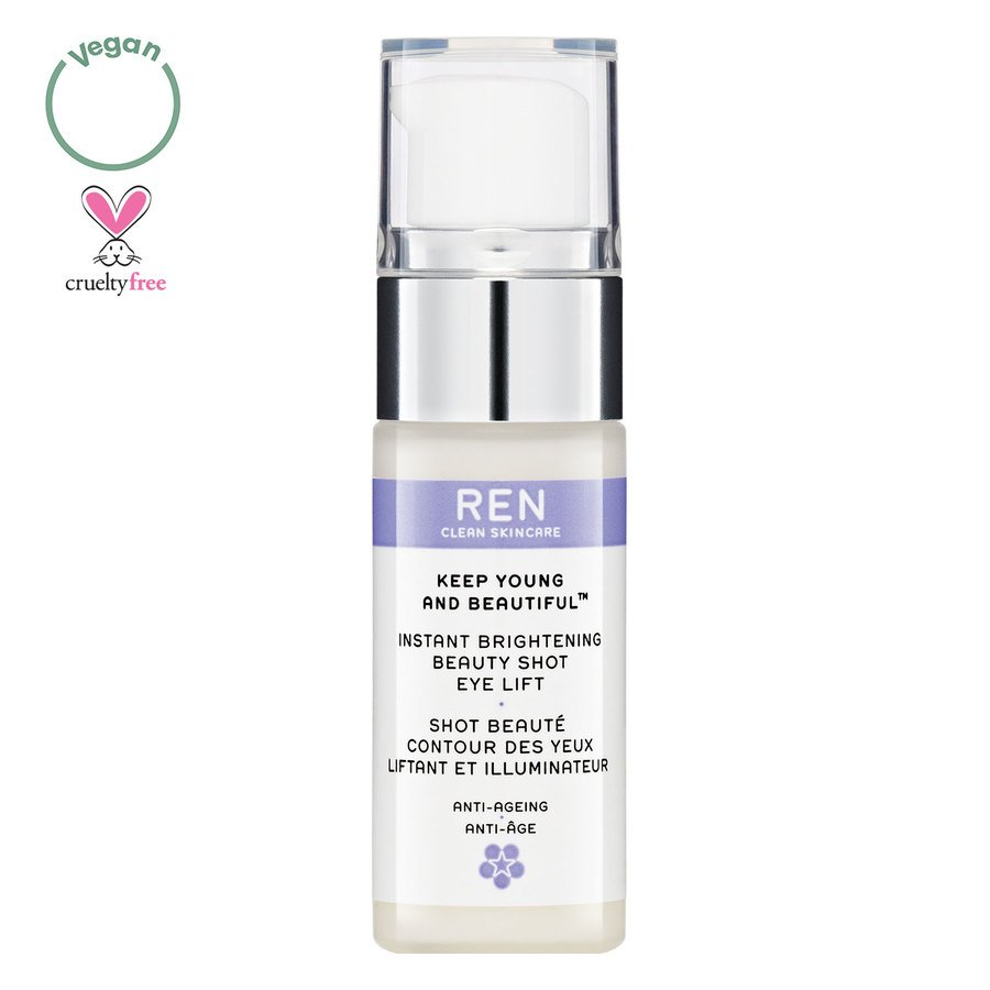 REN Clean Skincare Keep Young and Beautiful Instant Brightening Beauty Shot Eye 15ml