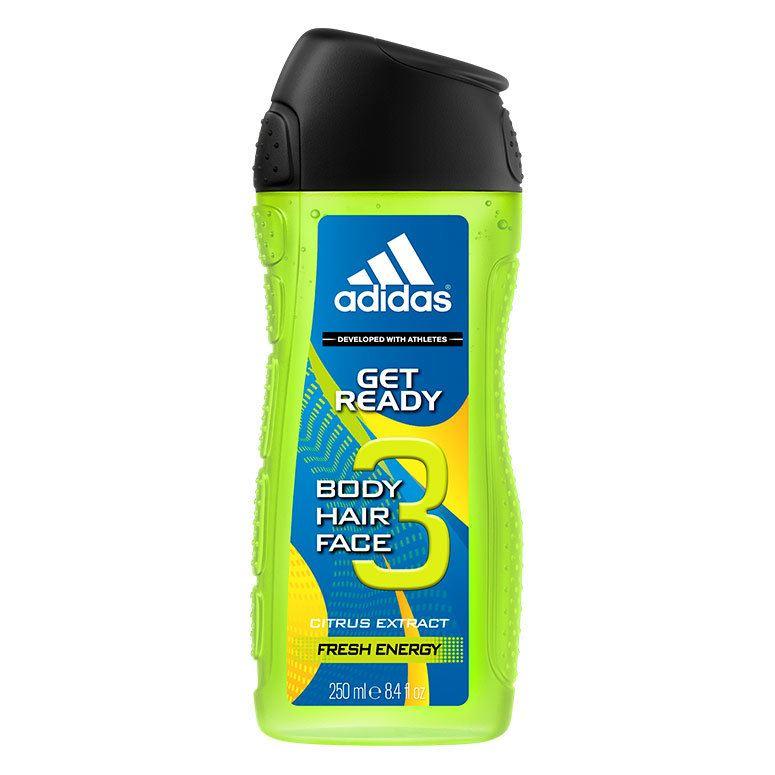 Adidas Get Ready! Shower Gel 250 ml