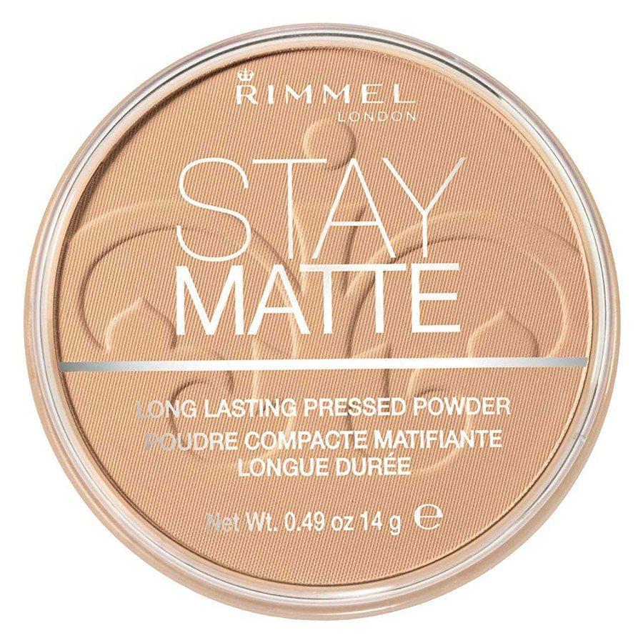 Rimmel Stay Matte Pressed Face Powder Warm Honey 010 14g