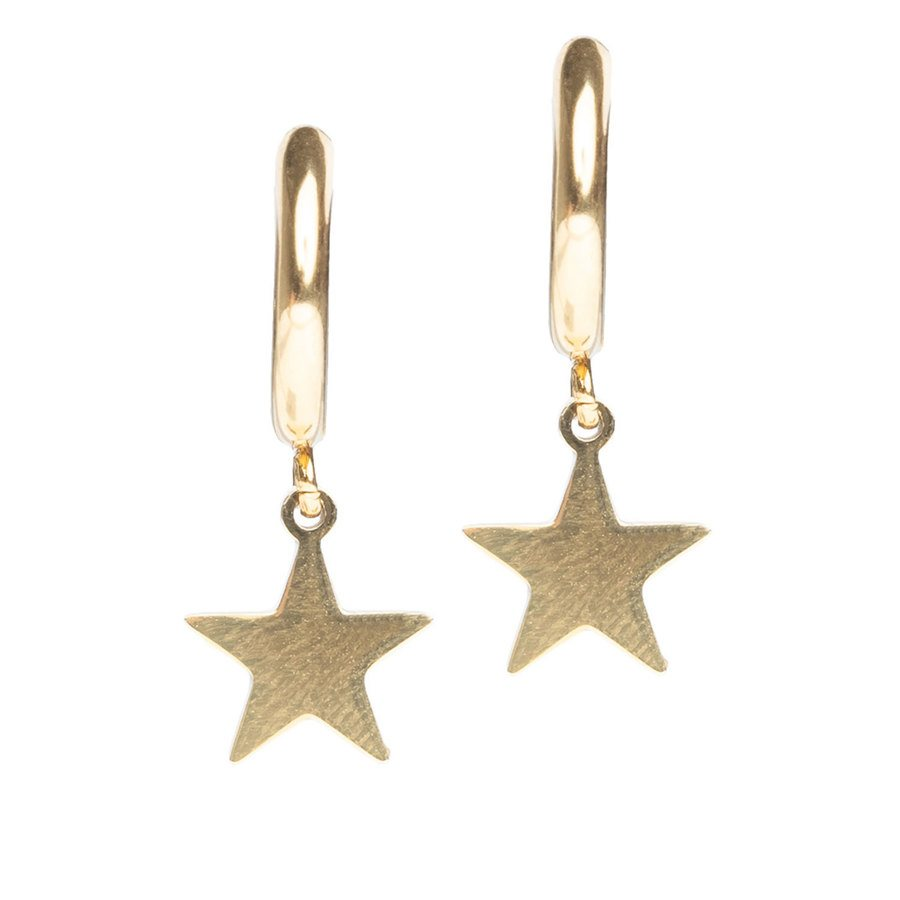 DARK Star Hoop ─ Gold