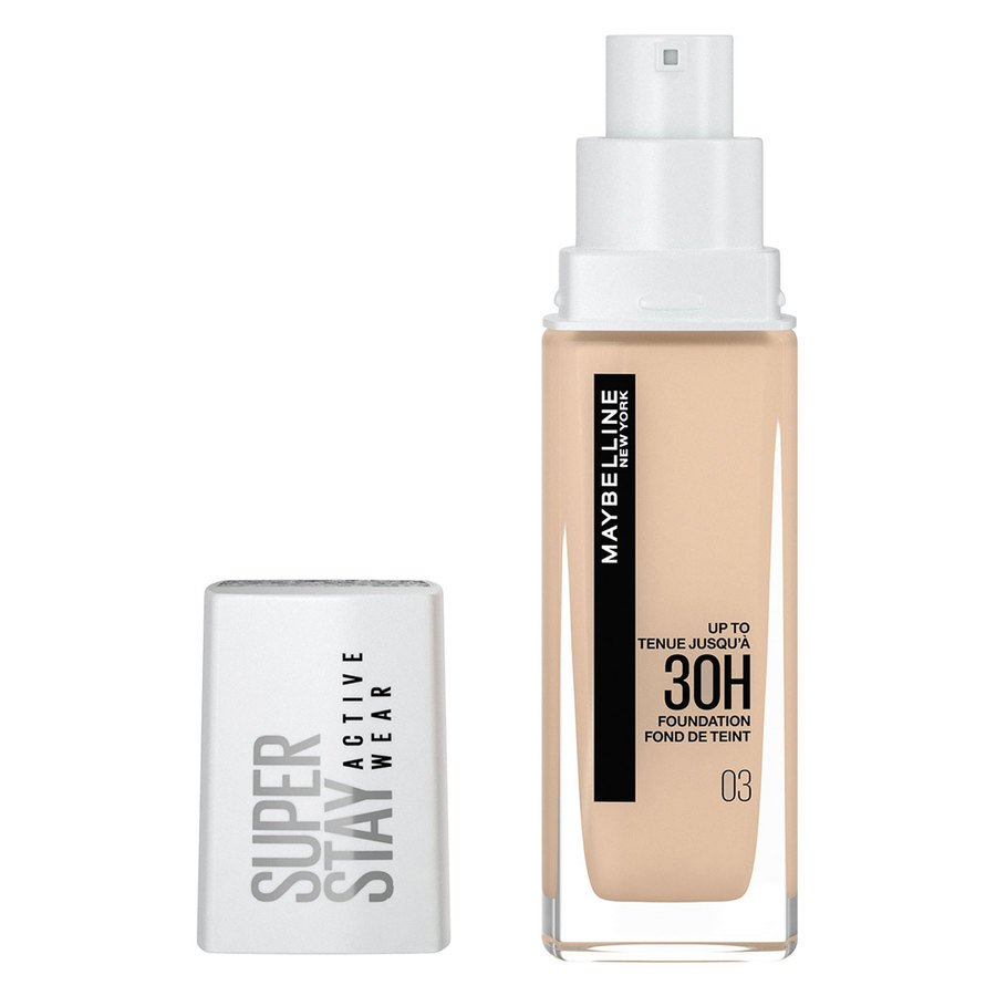 Maybelline 30H Superstay Active Wear Foundation 30 ml – True Ivory