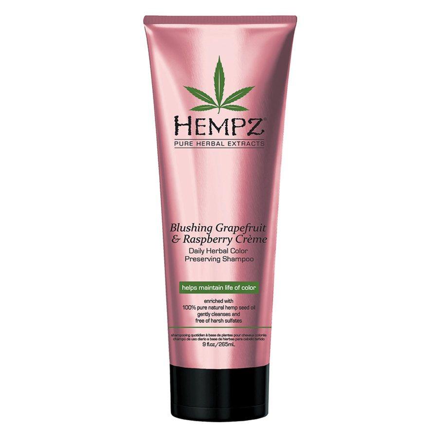 Hempz Blushing Grapefruit & Raspberry Crème Shampoo 265 ml