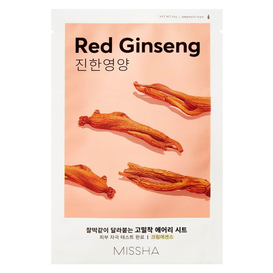 Missha Airy Fit Sheet Mask Red Ginseng 19 g