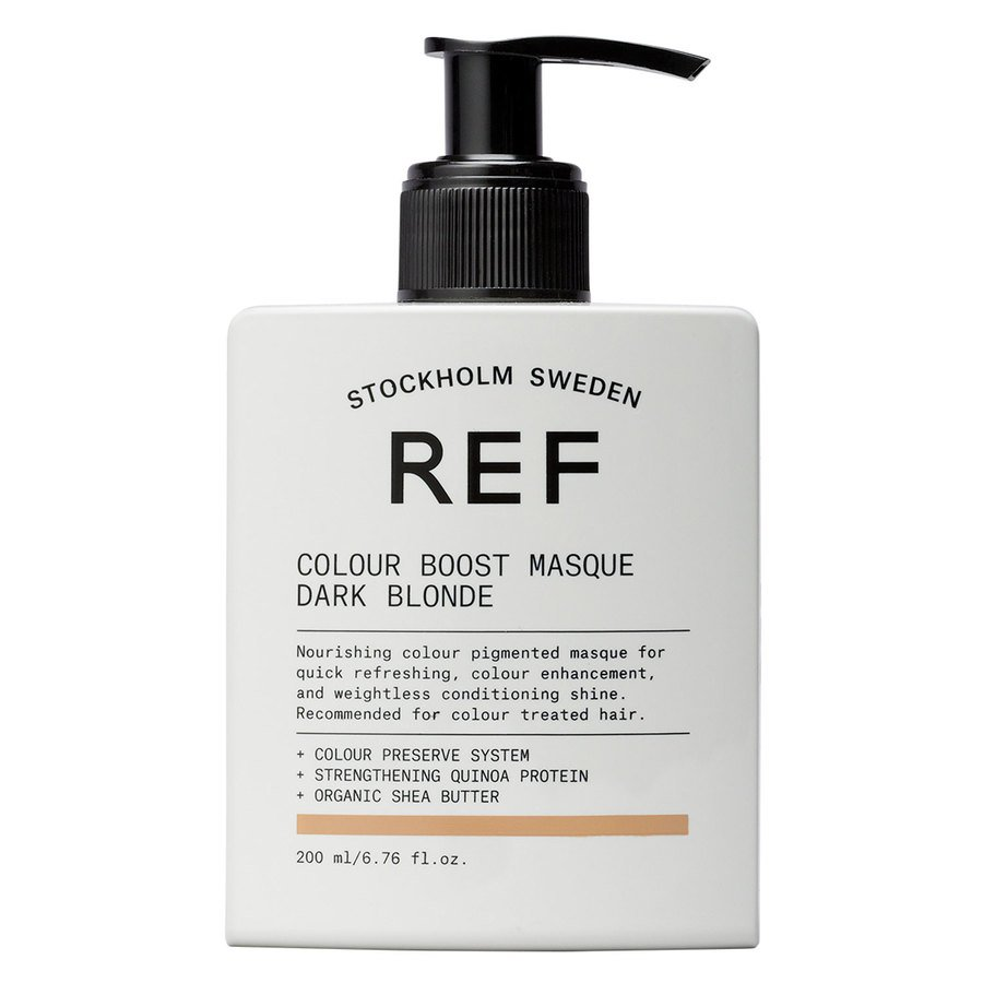 REF Colour Boost Masque 200 ml ─ Dark Blonde