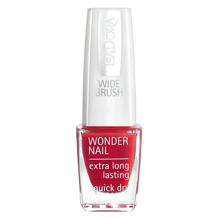 IsaDora Wonder Nail Wide Brush 6 ml ─ #412 In Red