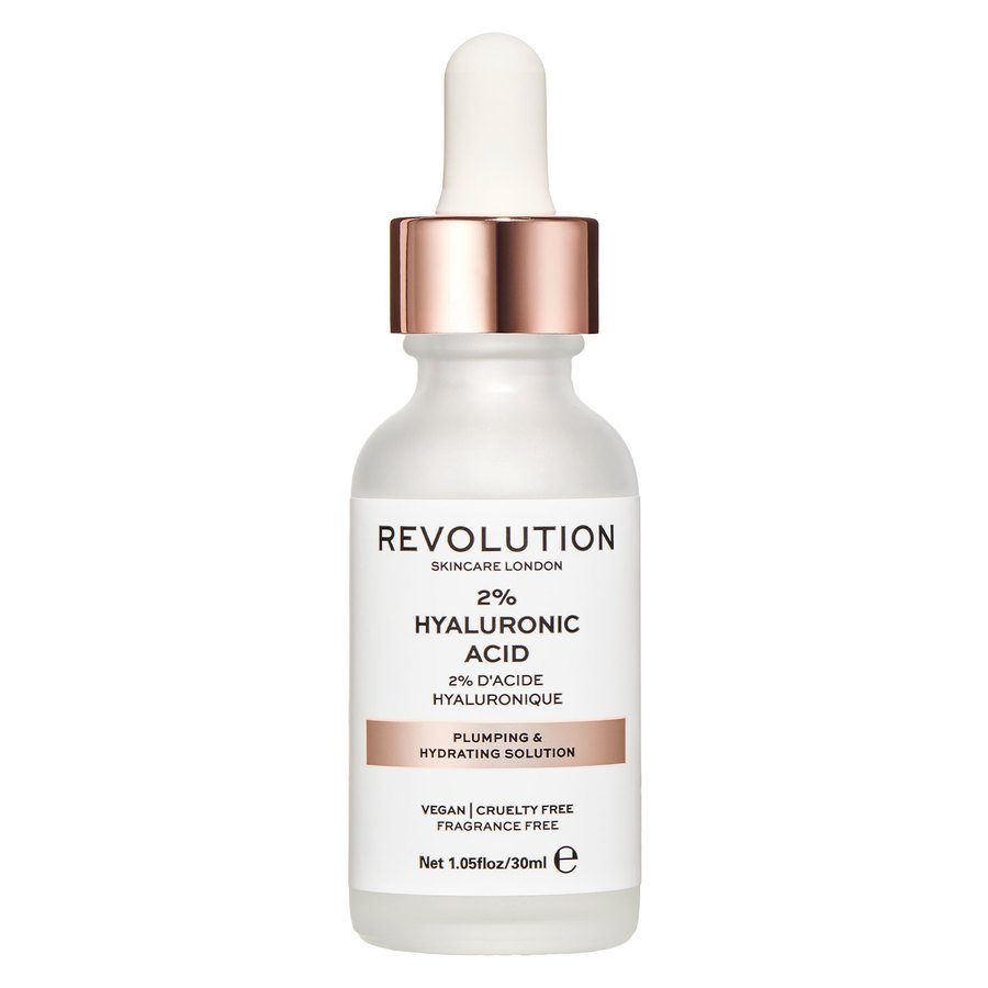 Revolution Skincare 2 % Hyaluronic Acid Plumping and Hydrating Serum 30 ml