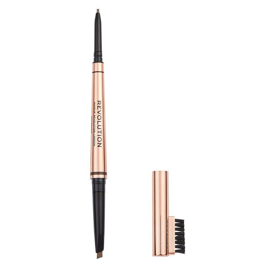 Revolution Beauty Makeup Revolution Balayage Brow 0,38 g ─ Ash Brown