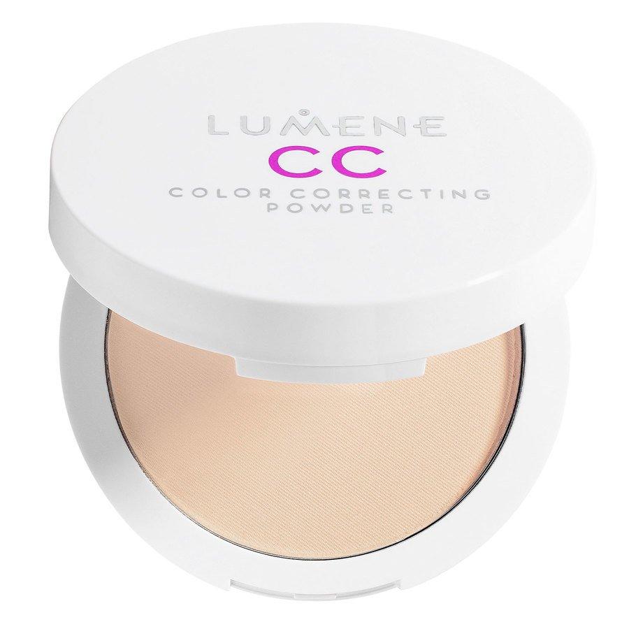 Lumene CC Color Correcting Powder 10 g ─ Medium/Dark