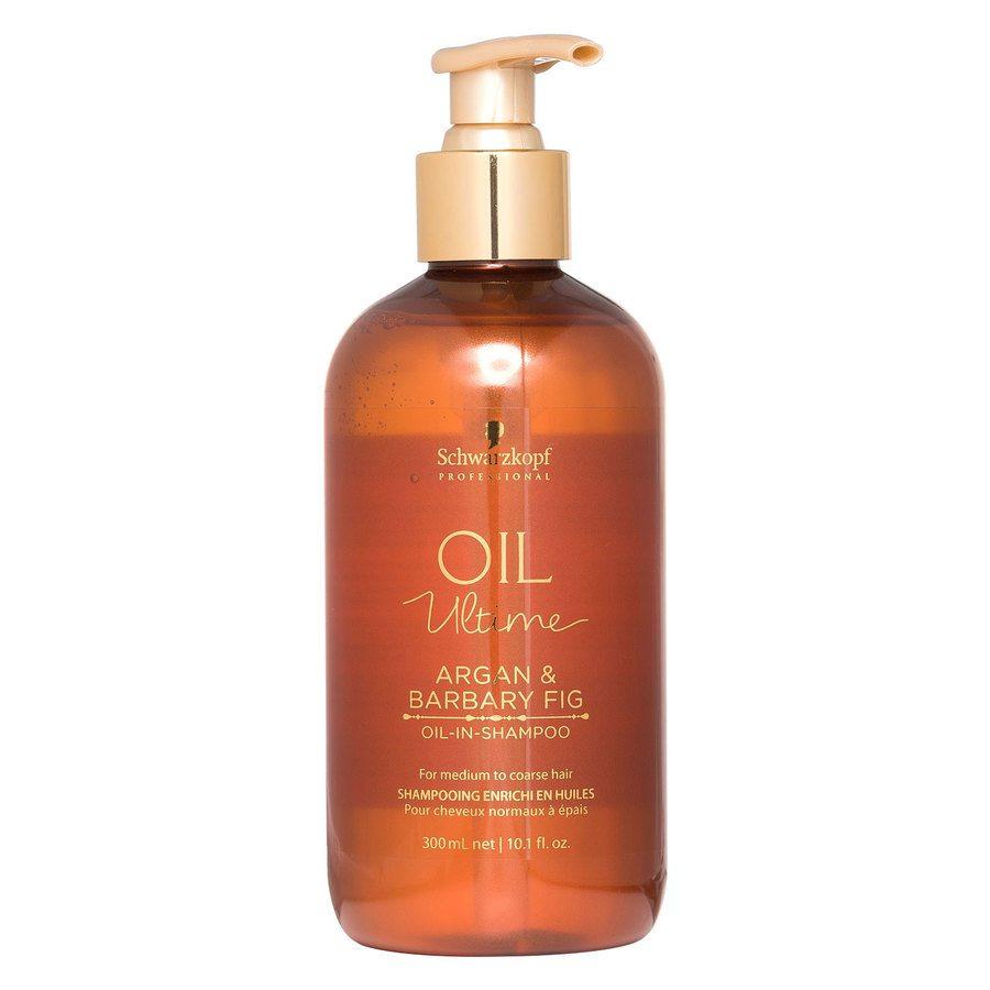 Schwarzkopf Oil Ultime Argan & Barbary Fig Oil-In-Shampoo 300 ml
