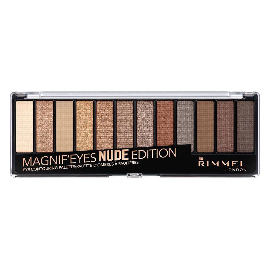 Rimmel London Magnif'eyes Eyeshadow Palette Nude Edition 14 g