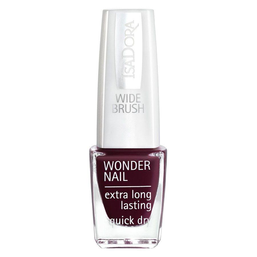 IsaDora Wonder Nail Wide Brush 6 ml ─ #418 Urban Red