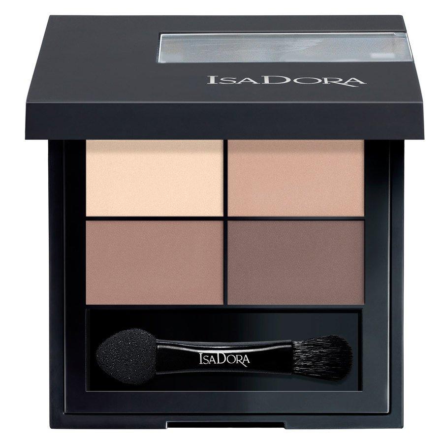 IsaDora Eye Shadow Quartet 4 g ─ #01 Muddy Nudes