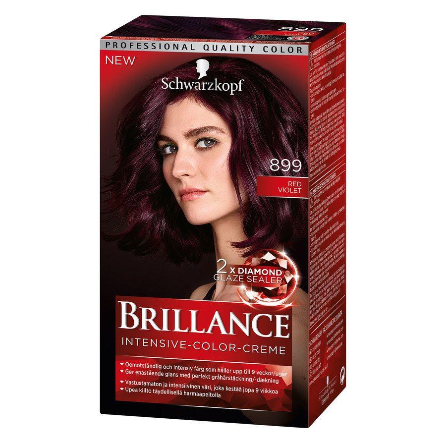 Schwarzkopf Brillance Intensive Color Creme ─ 899 Red Violet