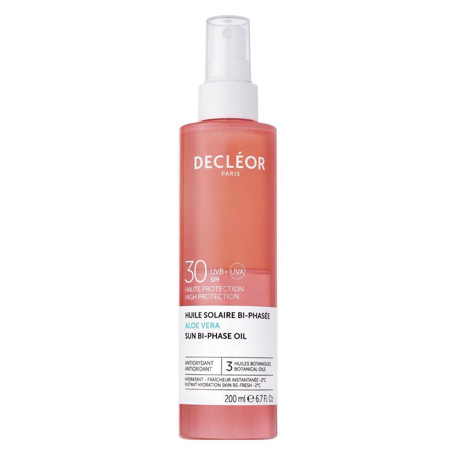 Decléor Aloe Vera Sun Bi-Phase Oil SPF 30 200 ml