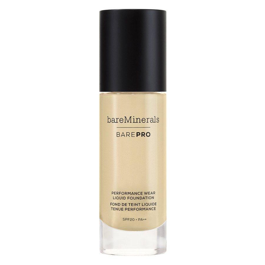 bareMinerals barePRO Performance Wear Liquid Foundation SPF 20 30 ml – Warm Light 07