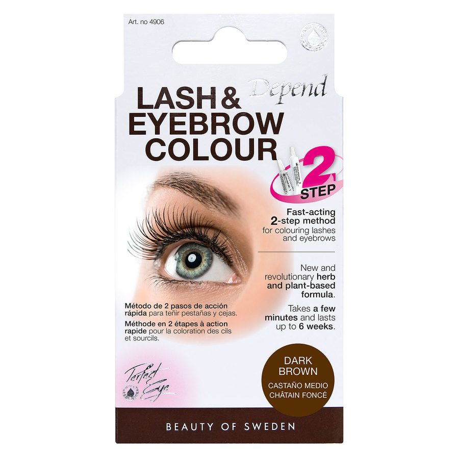 Depend Lash And Eyebrow Colour - Dark Brown