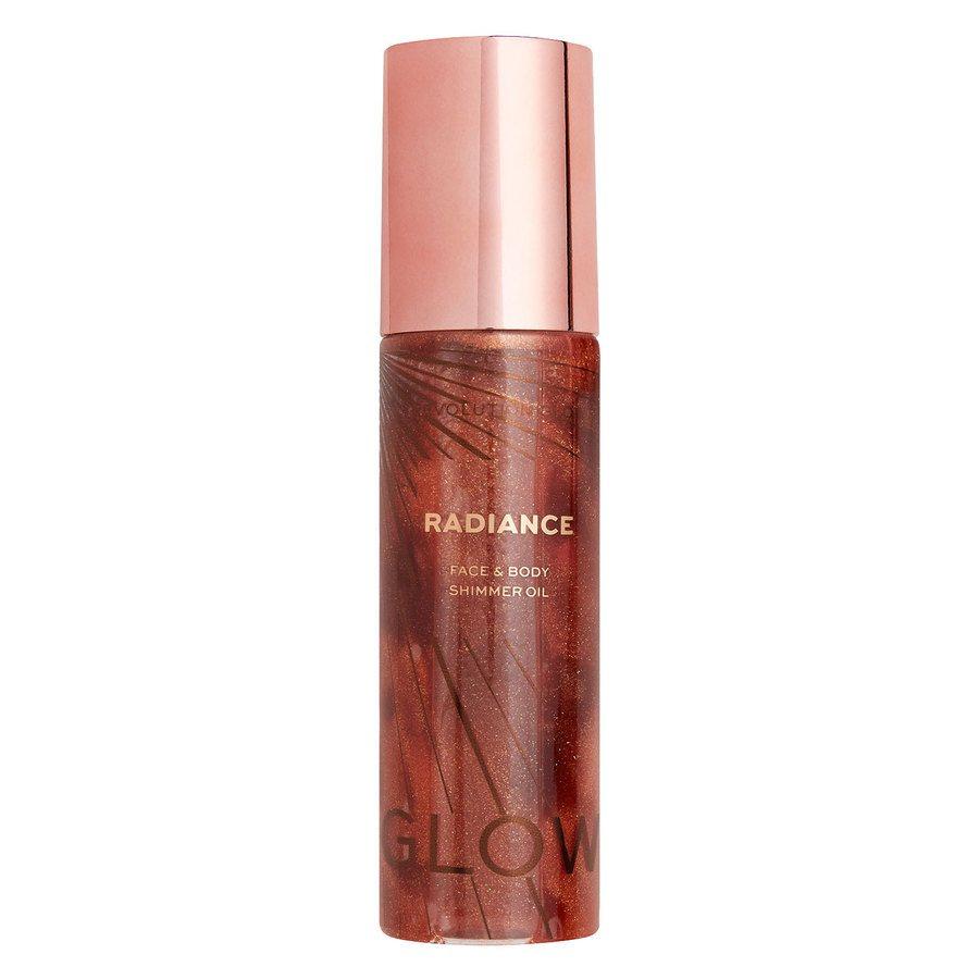 Makeup Revolution Glow Radiance Shimmer Oil 100 ml ─ Bronze