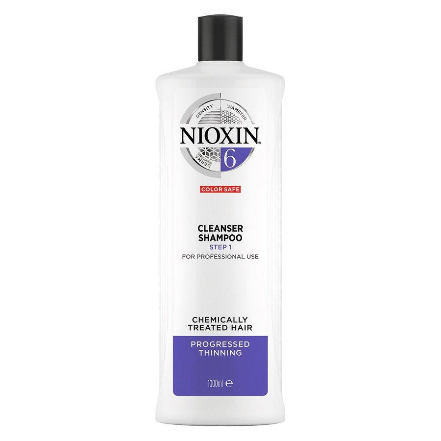 Nioxin System 6 Cleanser Shampoo 1 000 ml