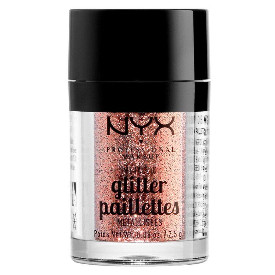 NYX Professional Makeup Metallic Glitter – Dubai Bronze
