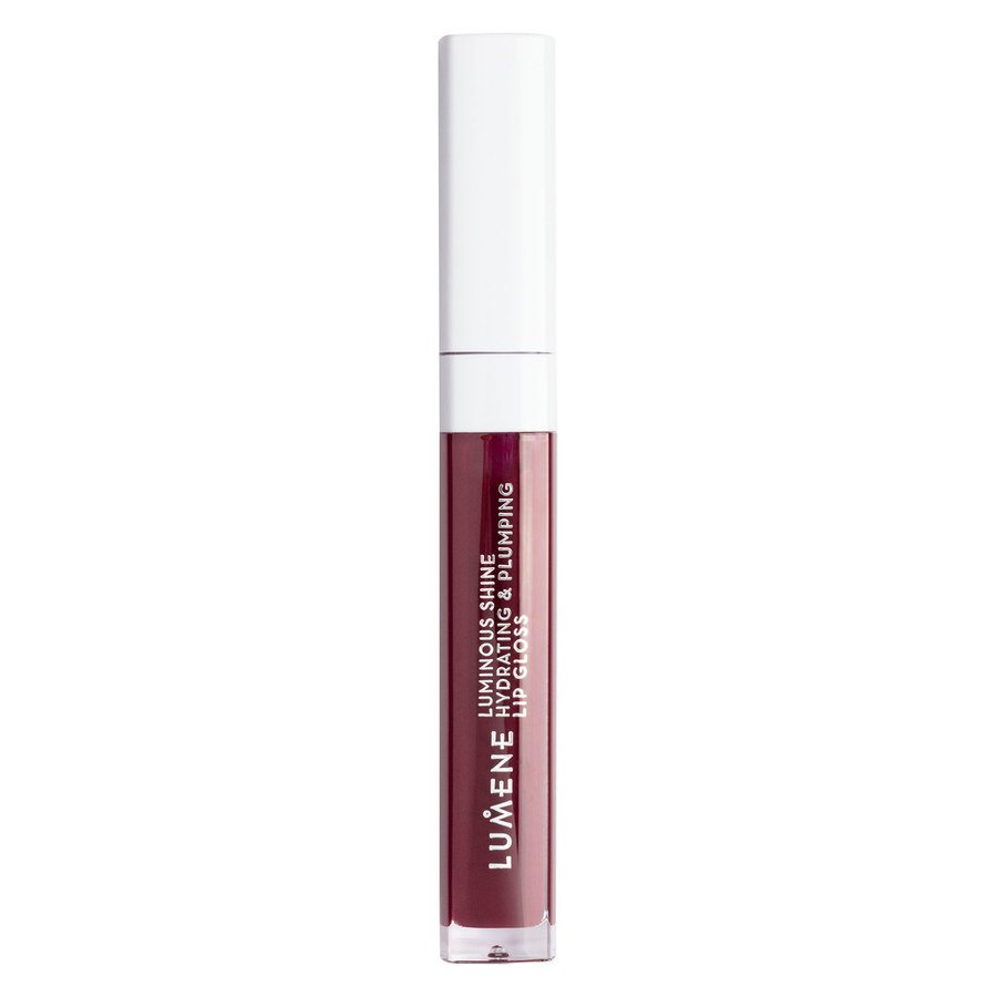 Lumene Luminous Shine Hydrating & Plumping Lip Gloss 5 ml – 10 Fresh Plum