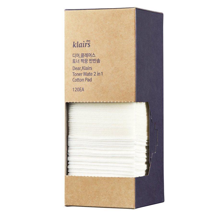 Klairs Toner Mate 2-In-1 Cotton Pad 120 kpl