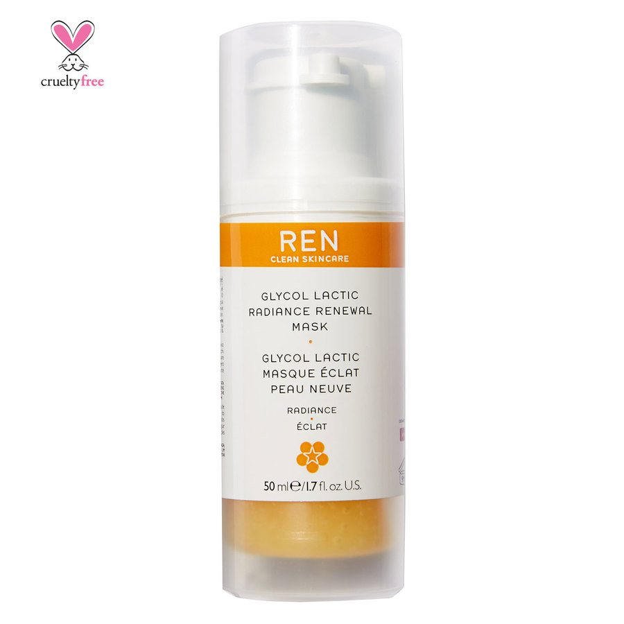 REN Clean Skincare Glycol Lactic Radiance Renewal Mask 50 ml