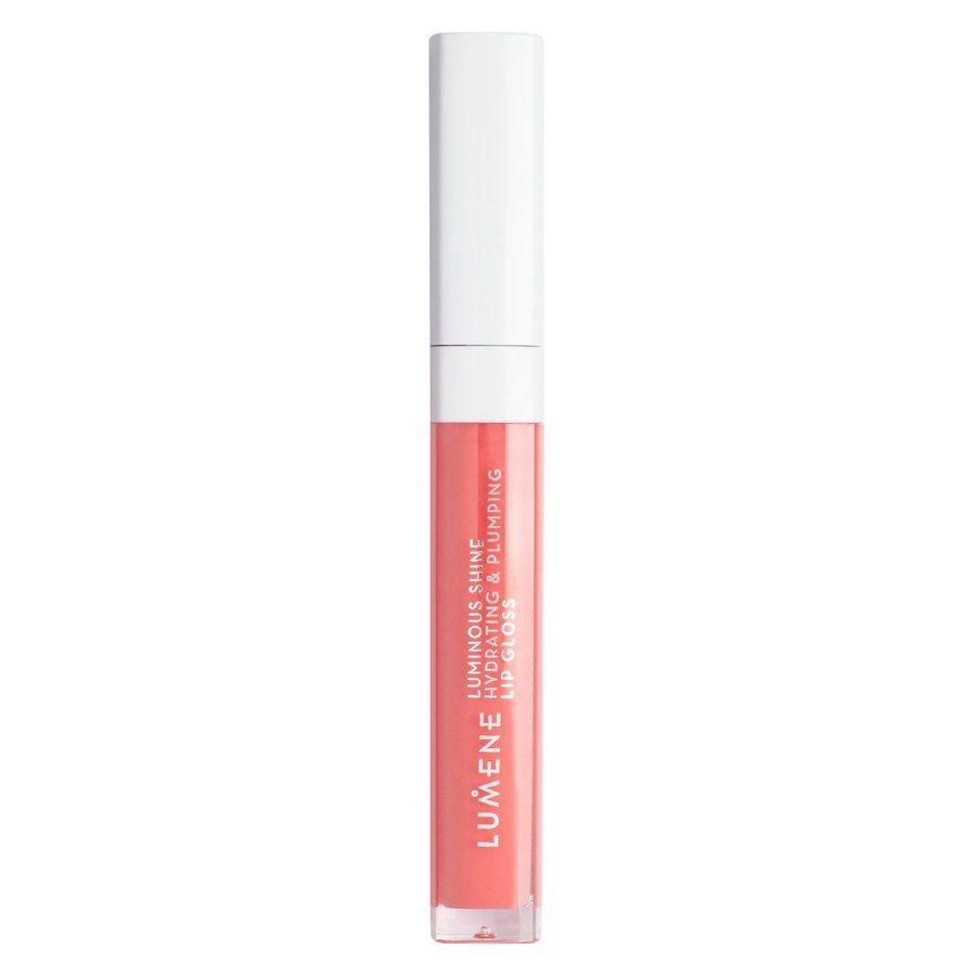 Lumene Luminous Shine Hydrating & Plumping Lip Gloss 5 ml – 9 Peach Pink