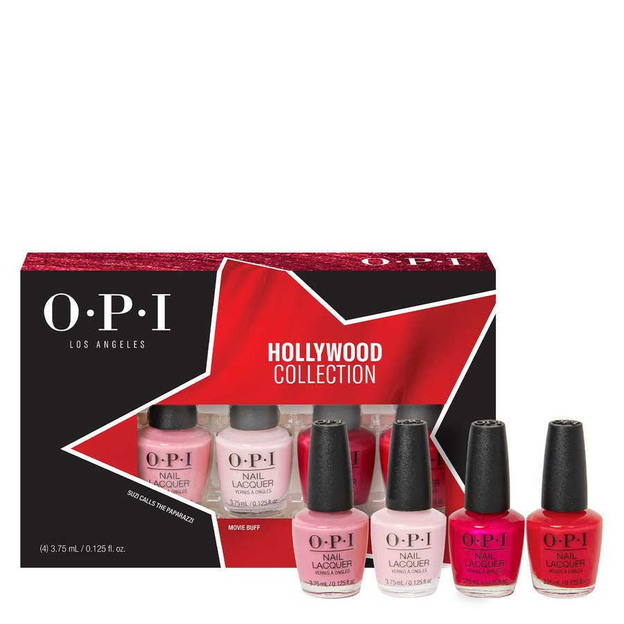 OPI Hollywood Collection Nail Lacquer DCH60 Mini-Pack 4 x 3,75 ml