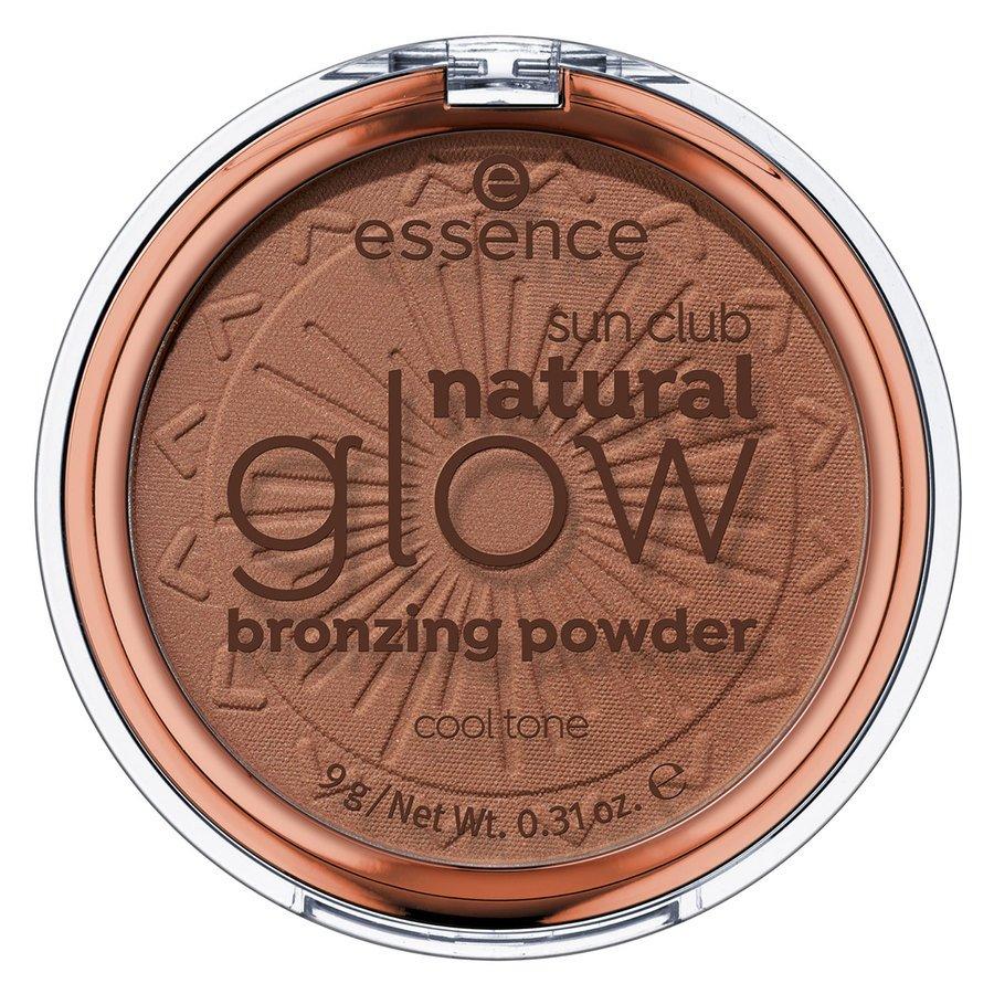 essence Sun Club Natural Glow Bronzing Powder 9 g – 02