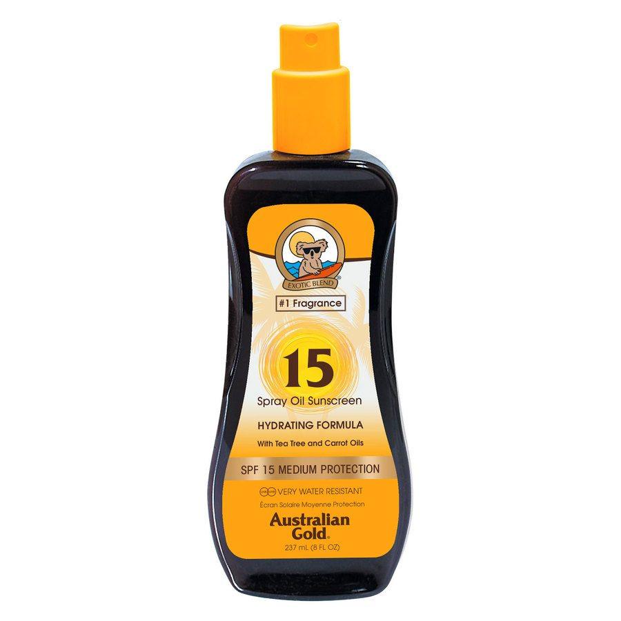 Australian Gold SPF 15 Carrot Intensifier Oil Spray 237 ml