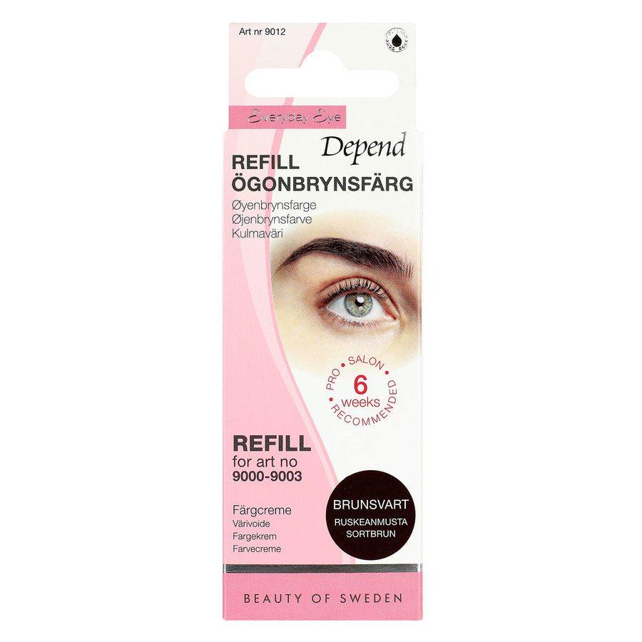Depend Eyebrow Colour Refill - Brown/Black