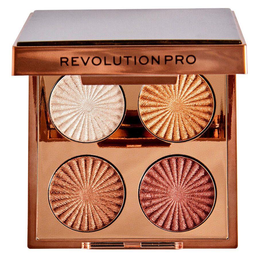 Revolution Pro Goddess Glow Eye Quad Sunkissed Eyeshadow Palette 4x1,1g