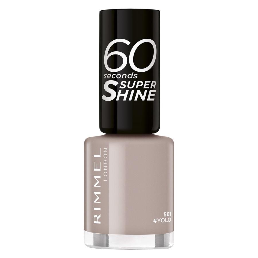 Rimmel London 60 Seconds Super Shine Nail Polish 8 ml – 561 Yolo