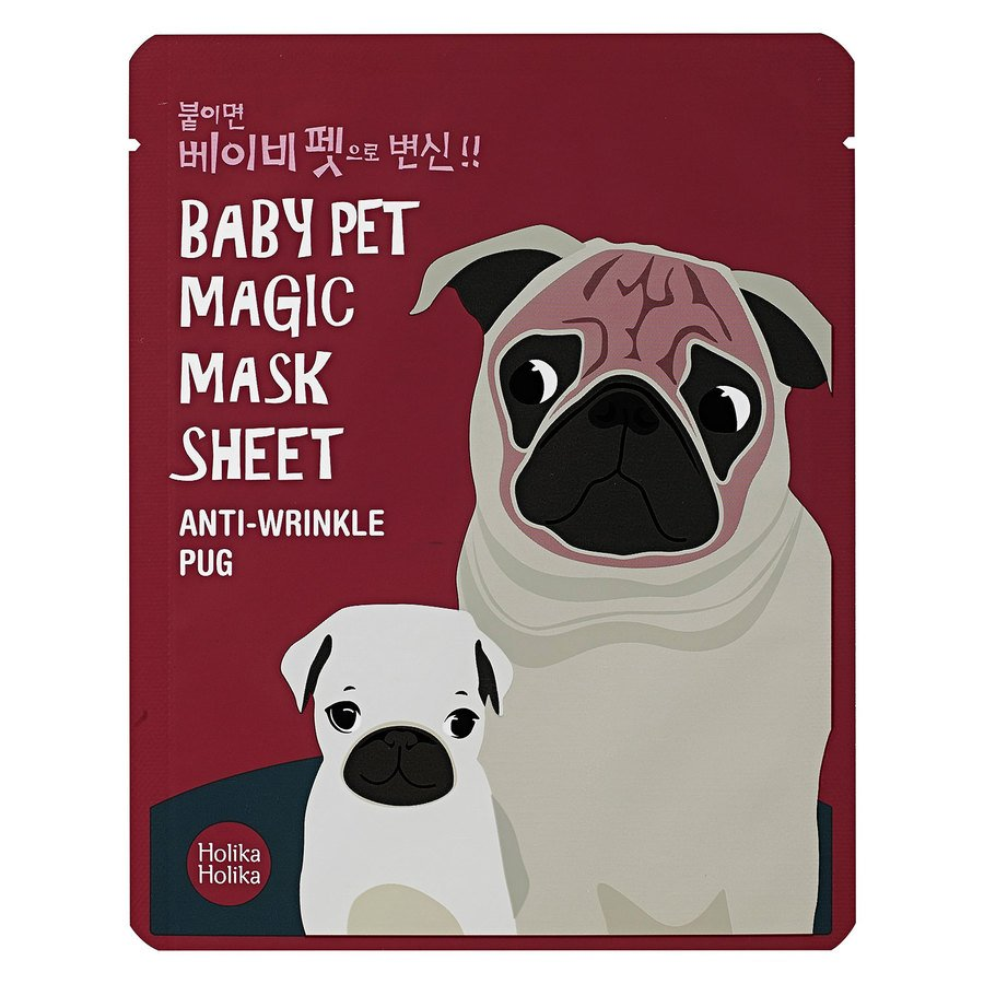 Holika Holika Baby Pet Magic Mask Sheet 22 ml – Pug