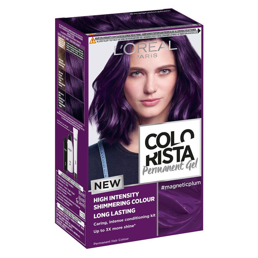 L'Oréal Paris Colorista Permanent Gel ─ Magnetic Plum