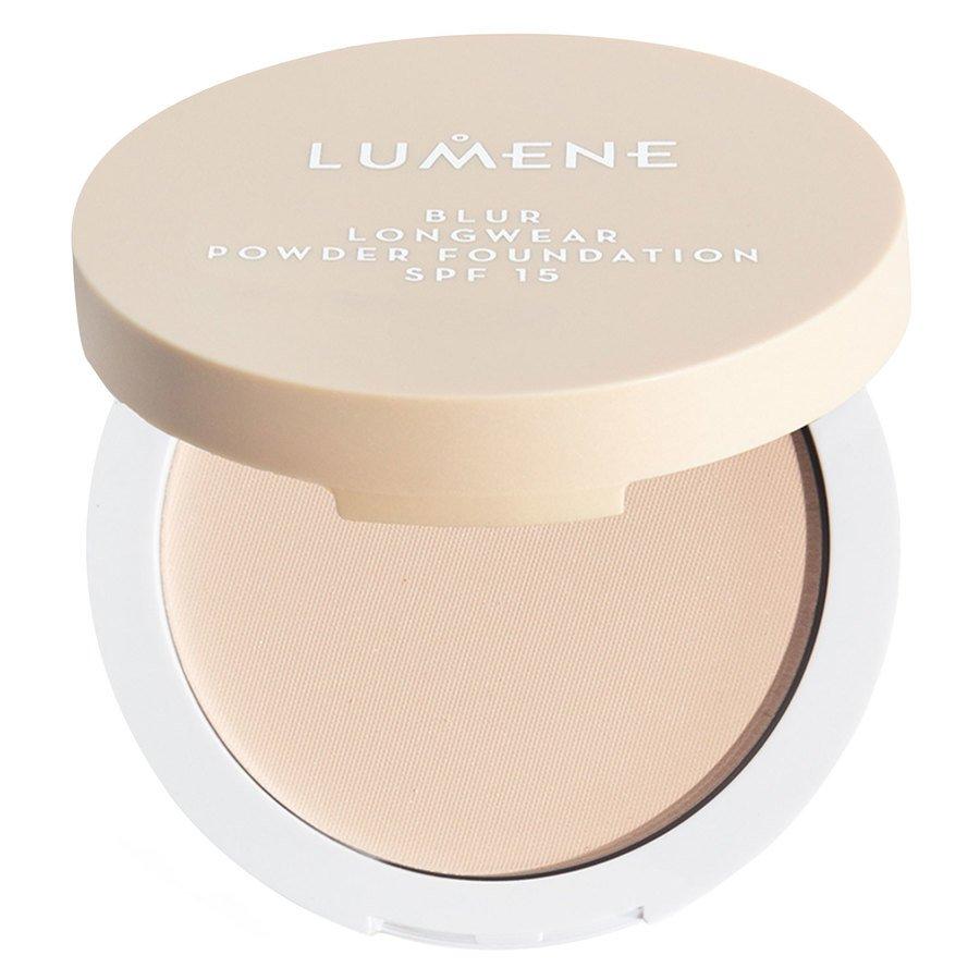 Lumene Blur Longwear Powder Foundation SPF 15 10 g - Fresh Apricot