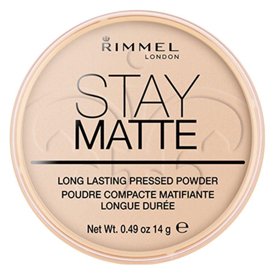Rimmel Stay Matte Pressed Face Powder Peach Glow 003 14g