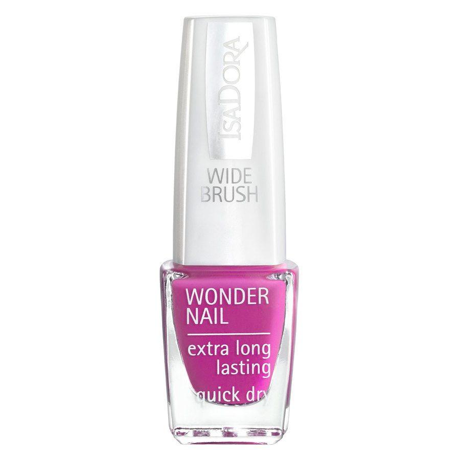 IsaDora Wonder Nail Wide Brush 6 ml ─ #192 Power Pink