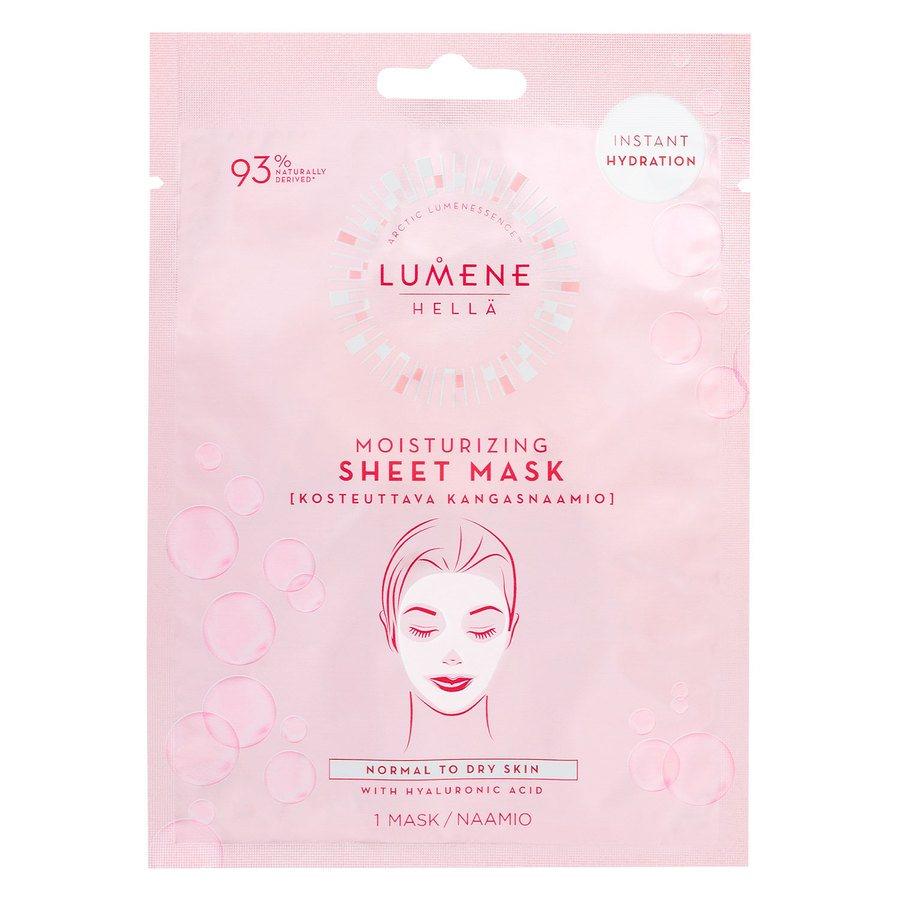 Lumene Hellä Moisturizing Sheet Mask 1 kpl