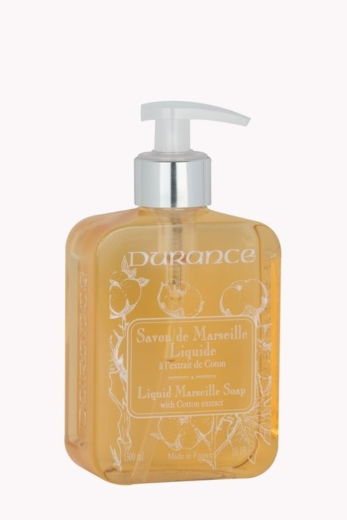 Durance Marseille Liquid Marseille Soap Cotton Extract 300 ml