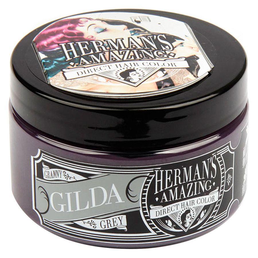 Herman's Amazing Direct Hair Color 115 ml – Gilda Granny Grey