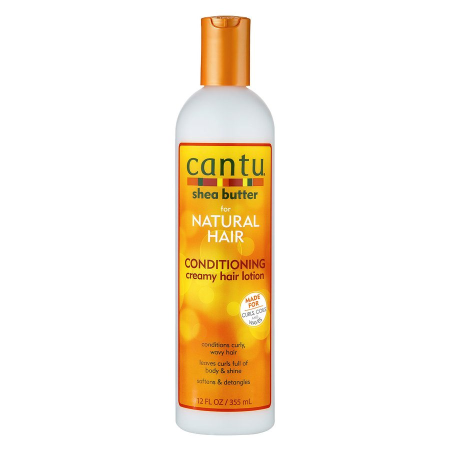 Cantu Shea Butter For Natural Hair Conditioning Creamy Hair Lotion 355 ml