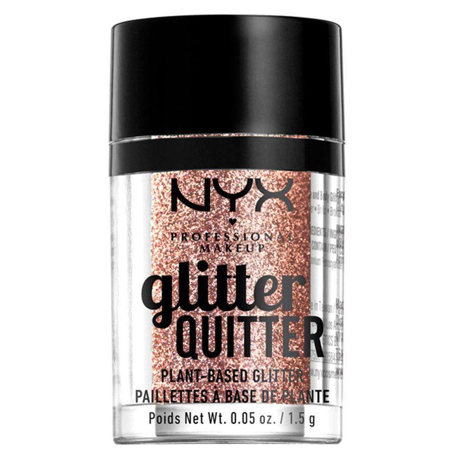 NYX Professional Makeup Glitter Quitter Plant Based Glitter 1,5 g – Bronze