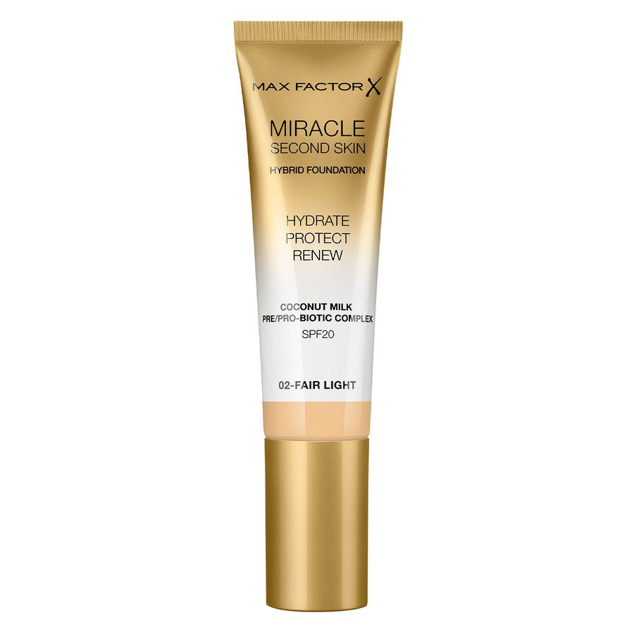 Max Factor Miracle Second Skin Foundation 33 ml ─ #002 Fair Light