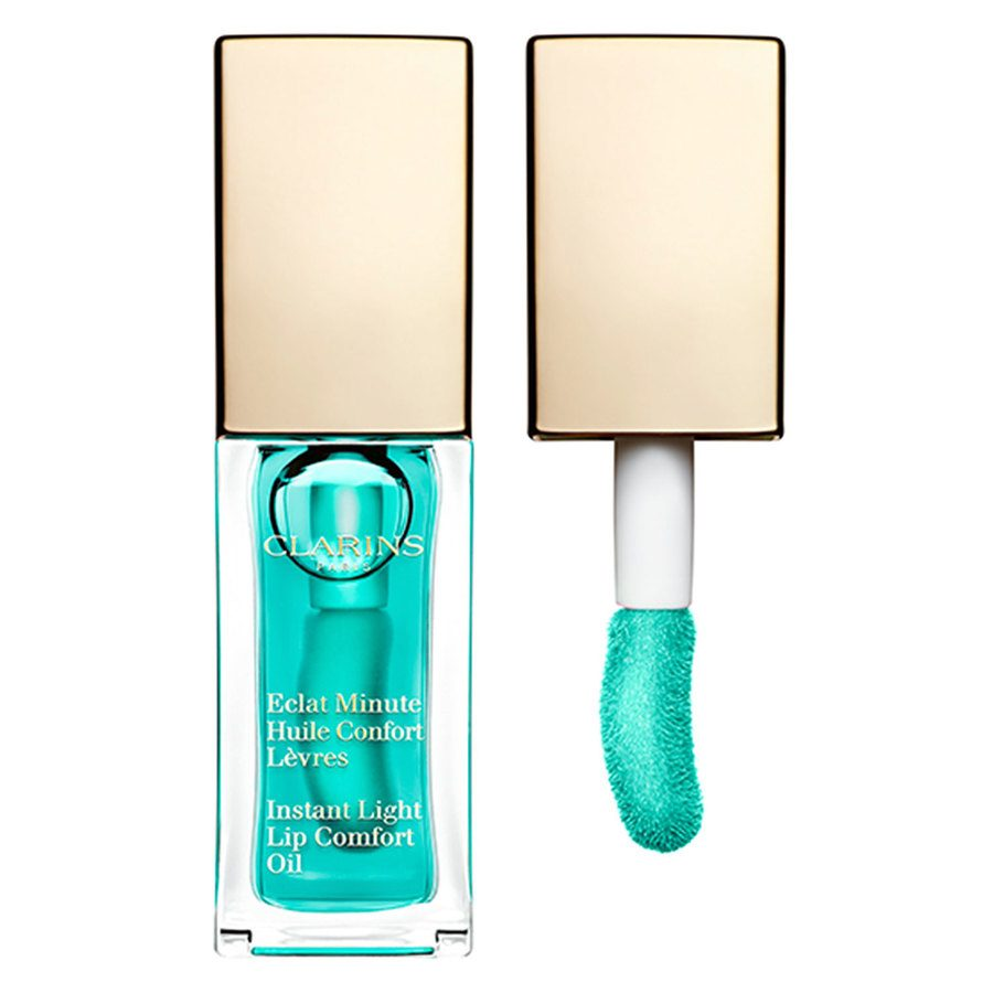 Clarins Instant Light Lip Comfort Oil 7 ml – #06 Mint