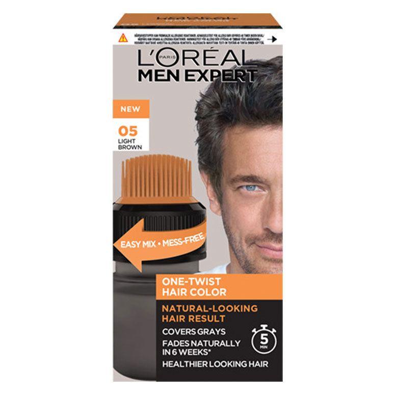 L'Oréal Paris Men Expert One-Twist Hair Color – 05 Light Brown