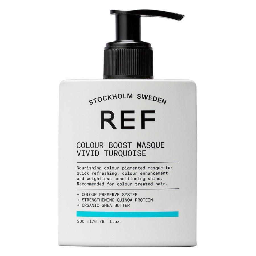 REF Colour Boost Masque 200 ml ─ Vivid Turquoise