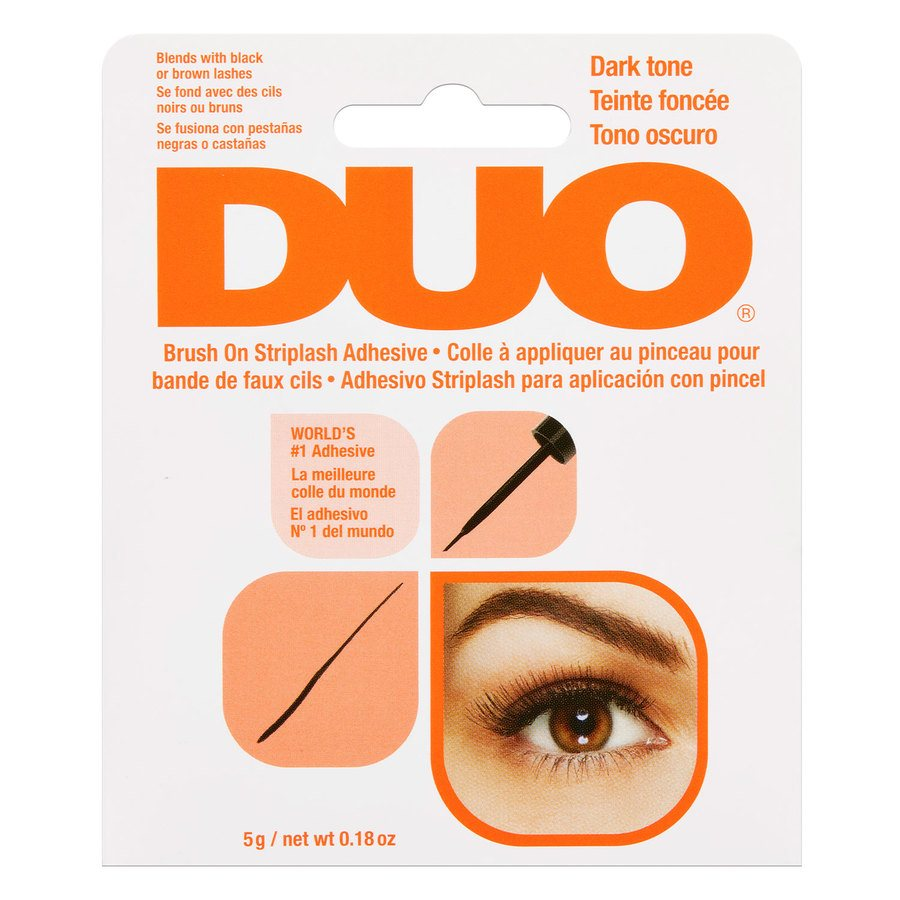 Ardell Duo Brush On Dark Adhesive With Vitamins Dark 5g