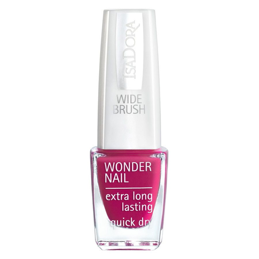 IsaDora Wonder Nail Wide Brush 6 ml ─ #567 Think Pink