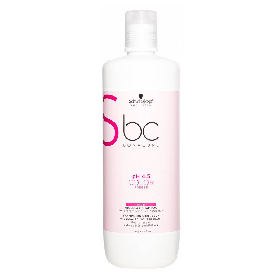 Schwarzkopf BC Bonacure Color Freeze Rich Shampoo 1 000 ml